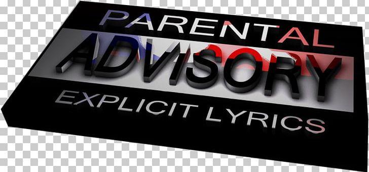 Parental advisory body. Logo display advertising brand