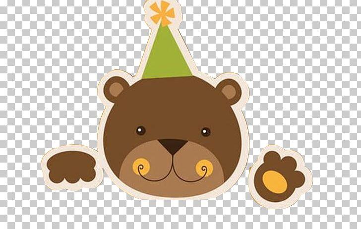 Bear birthday. Teddy cake cartoon png