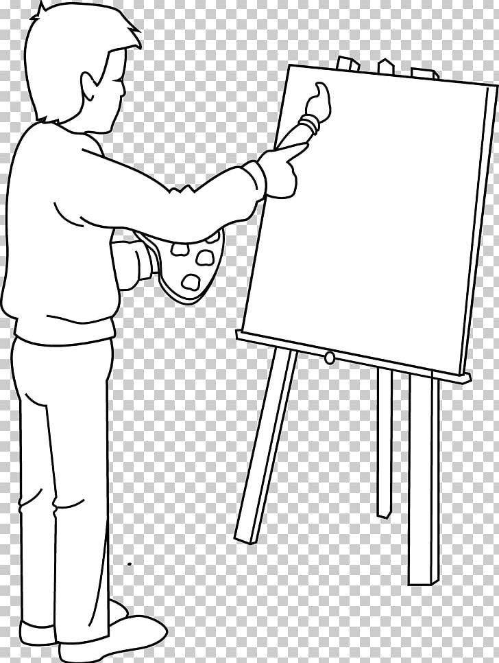 Painting Artist Black And White PNG, Clipart, Angle, Area, Arm, Art, Artist Free PNG Download