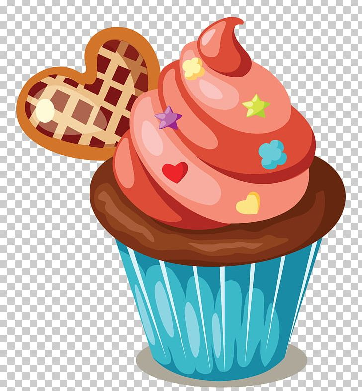 Cupcake Icing Birthday Cake Muffin PNG Clipart Cakes And Cupcakes Candy Cartoon