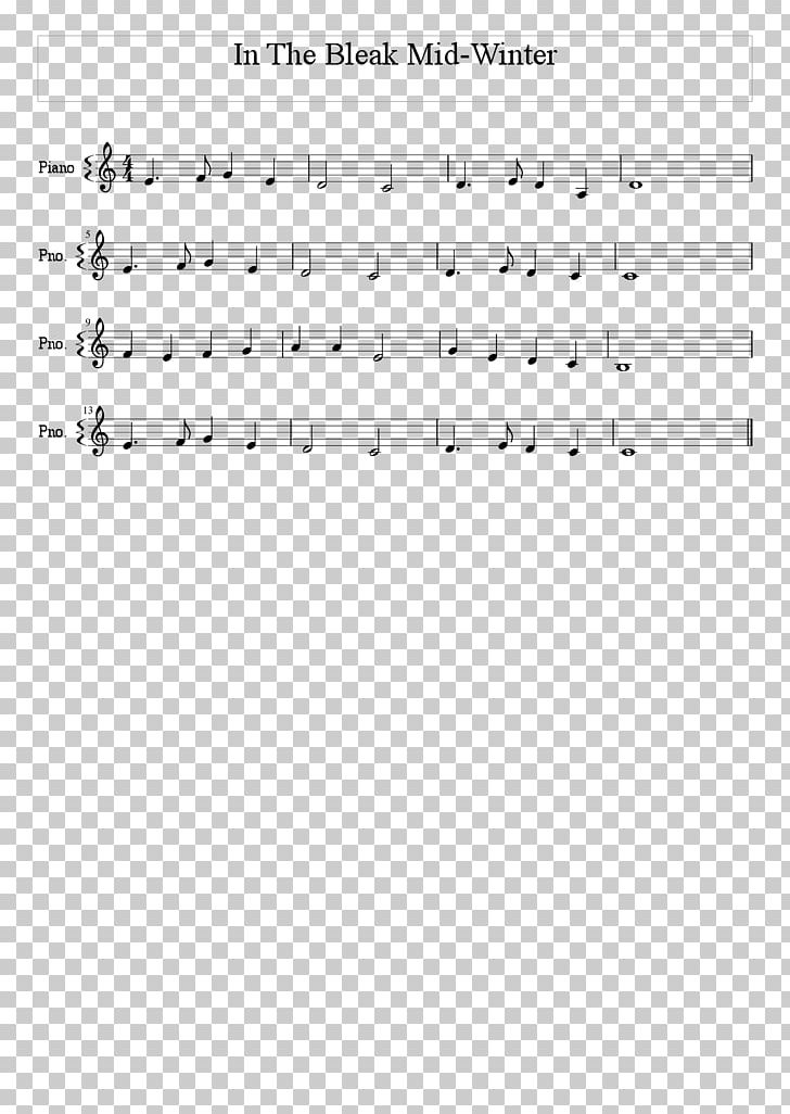 O Tannenbaum Songtext.Sheet Music In The Bleak Midwinter Melody Song Png Clipart Angle