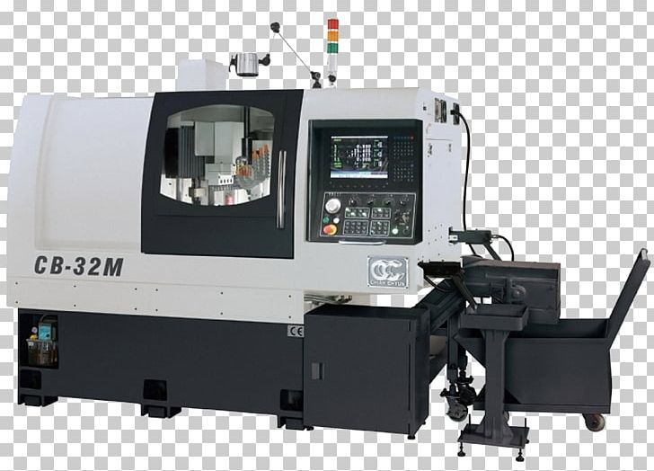 Computer Numerical Control Machine Tool Lathe Machine Industry PNG