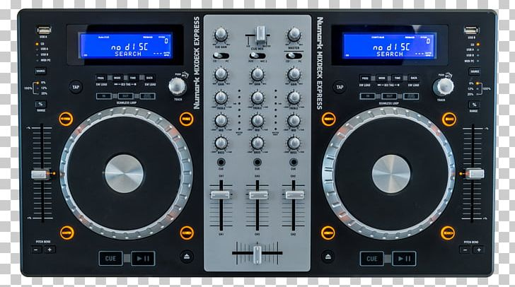 DJ Controller Disc Jockey Virtual DJ Audio Mixers PNG, Clipart