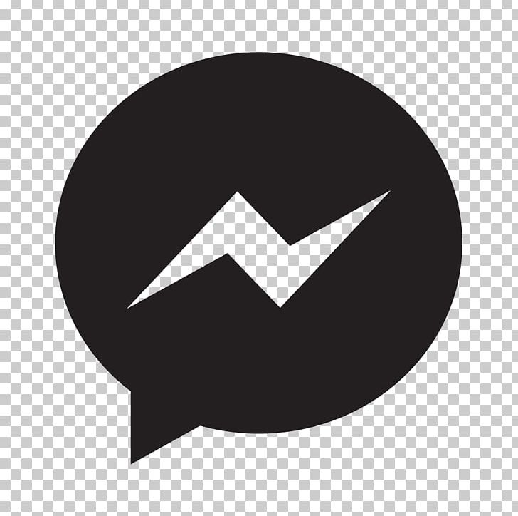 Social Media Facebook Messenger Computer Icons Instant Messaging PNG, Clipart, Angle, Black, Brand, Circle, Computer Icons Free PNG Download