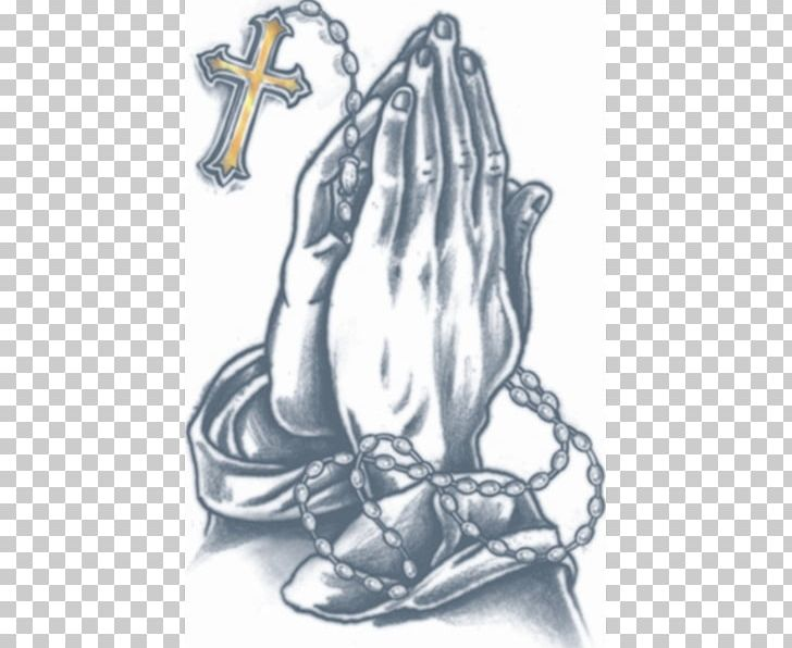 Praying Hands Abziehtattoo Prison Tattooing Body Art PNG, Clipart, Abziehtattoo, Blackandgray, Black And White, Body Art, Cosmetics Free PNG Download