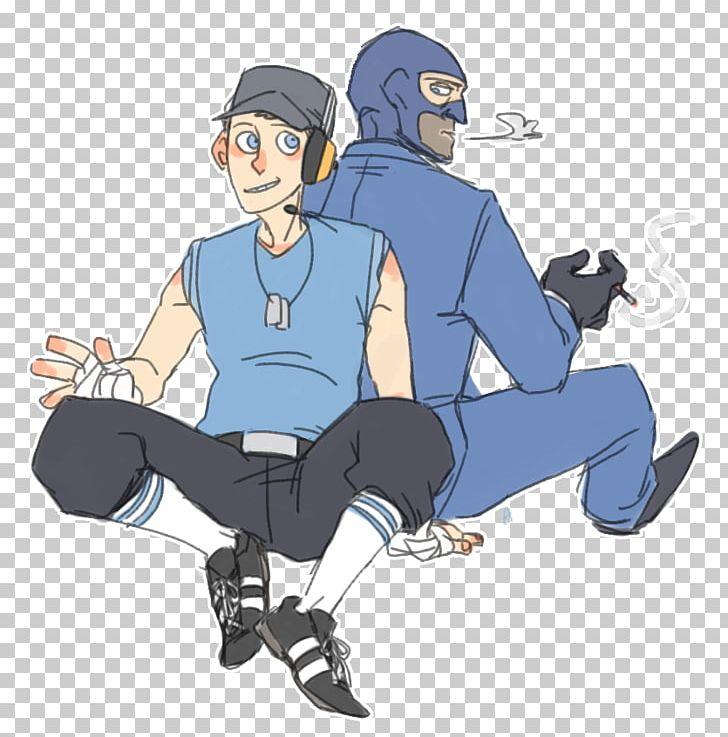 Team Fortress 2 Fan Art Scouting Drawing Png Clipart Arm Art Cartoon Character Deviantart Free Png