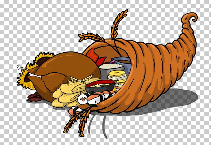 Cornucopia Thanksgiving PNG, Clipart, Carnivoran, Cartoon, Claw, Cornucopia, Decapoda Free PNG Download