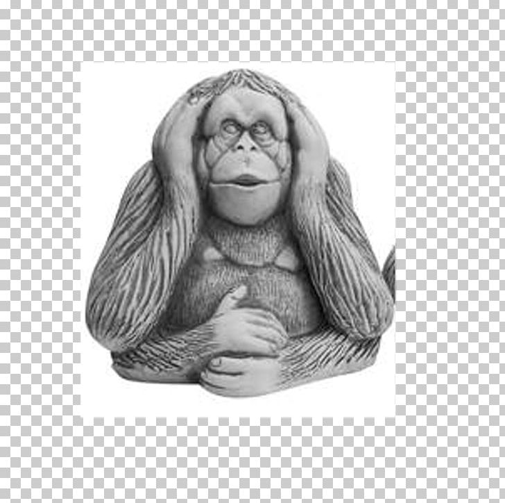 Gorilla Three Wise Monkeys Drawing Visual Perception PNG, Clipart
