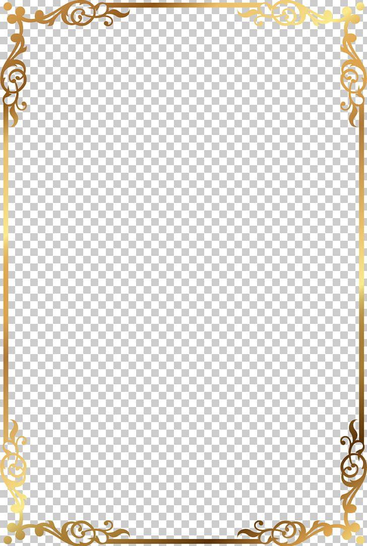 Frame Golden Frame Rectangle PNG, Clipart, Area, Border Frame, Design, Desktop Wallpaper, Encapsulated Postscript Free PNG Download