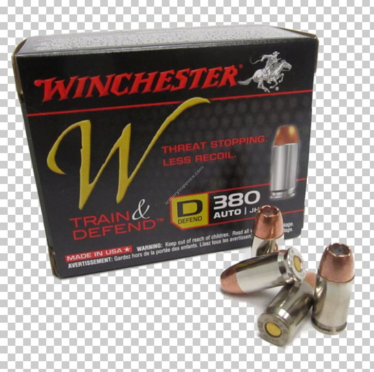 Hollow-point Bullet Ammunition Stopping Power Winchester