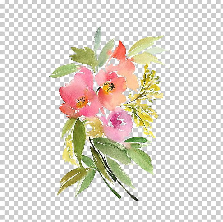 Watercolor: Flowers Paper Watercolour Flowers Painting PNG, Clipart, Blossom, Botanical Illustration, Branch, Color, Cut Flowers Free PNG Download