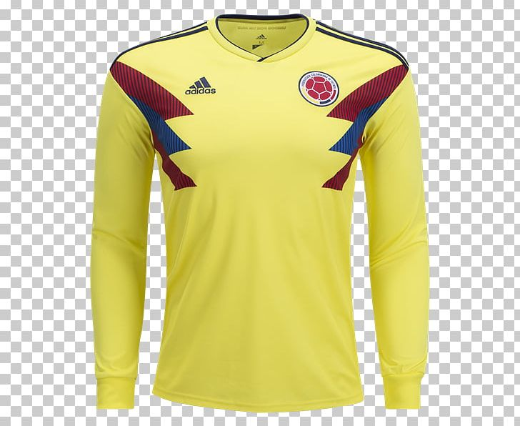 9f5a79a39 Colombia National Football Team T-shirt 2018 FIFA World Cup Sleeve Jersey  PNG, Clipart, ...