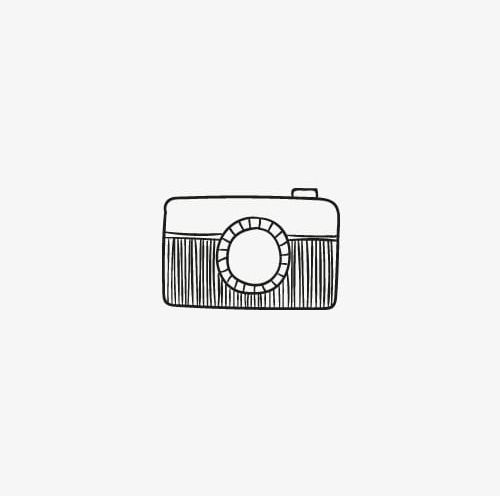 Camera hand drawn. Icon png clipart black