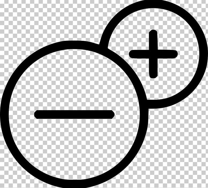 Plus-minus Sign Plus And Minus Signs Computer Icons PNG, Clipart, Area, Black And White, Check Mark, Circle, Computer Icons Free PNG Download