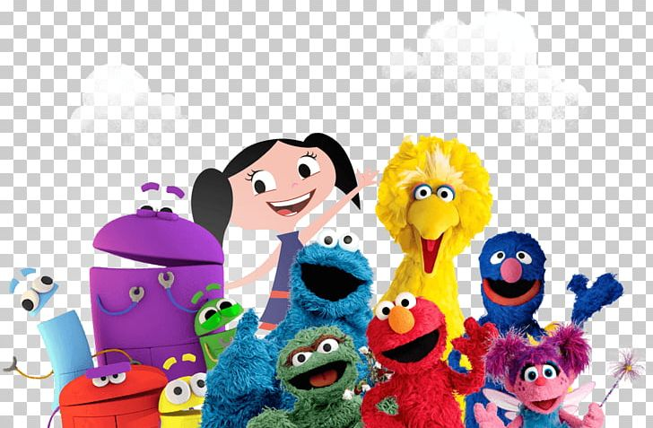 Big Bird Elmo Abby Cadabby Cookie Monster Sesame Workshop PNG