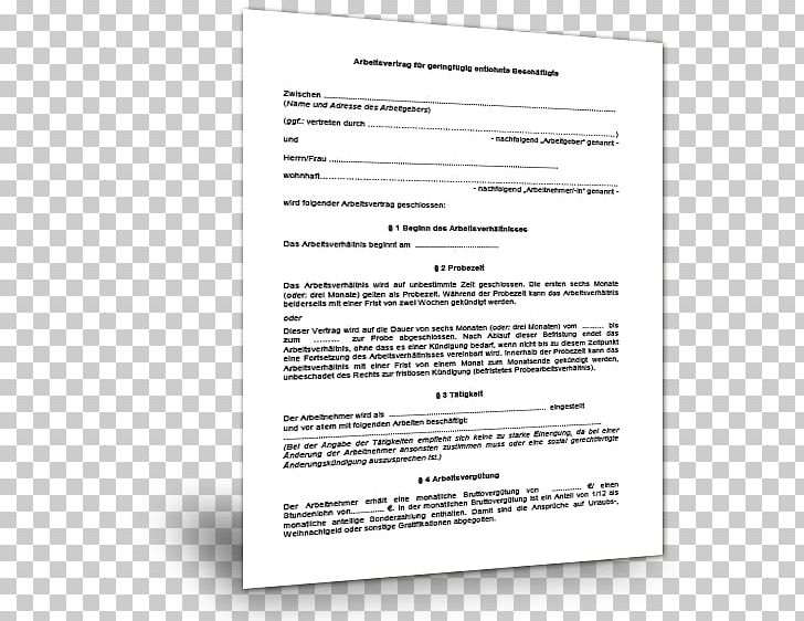 Document Contract Template Curriculum Vitae Temporary Work ...