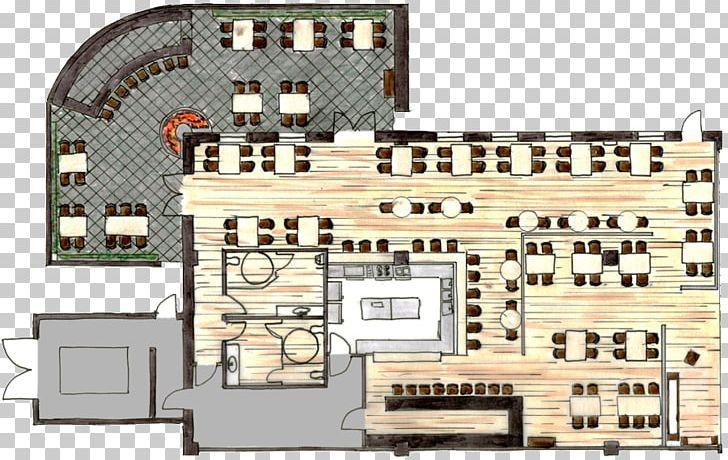 Floor Plan Architecture Bar Restaurant