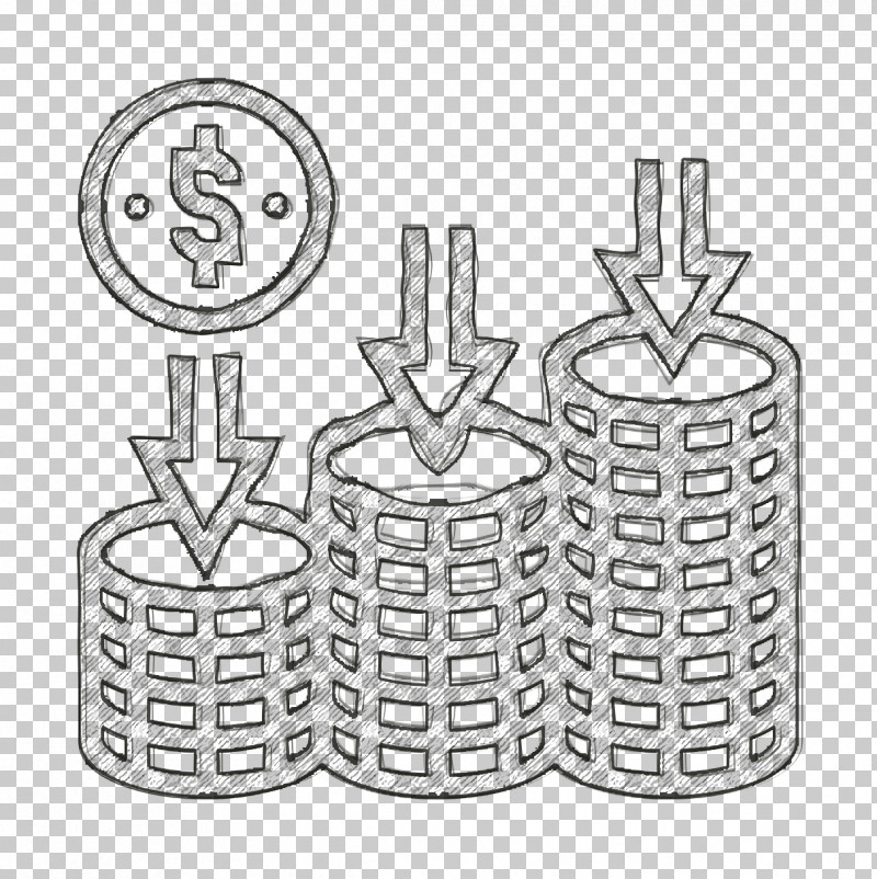 Loss Icon Saving And Investment Icon PNG, Clipart, Cylinder, Diagram, Line Art, Loss Icon, Saving And Investment Icon Free PNG Download