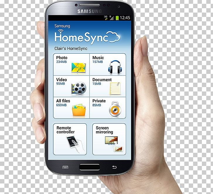 Smartphone Feature Phone Samsung Galaxy S4 Telephone PNG