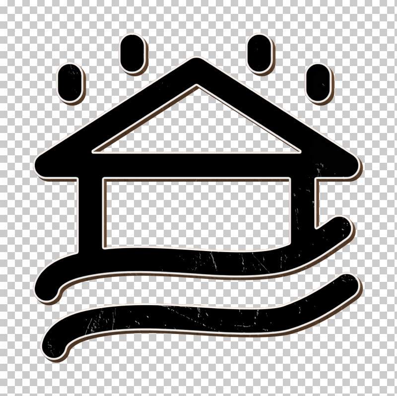 Weather Elements Icon Flooded House Icon Rain Icon PNG, Clipart, Geometry, Line, Mathematics, Meter, Rain Icon Free PNG Download