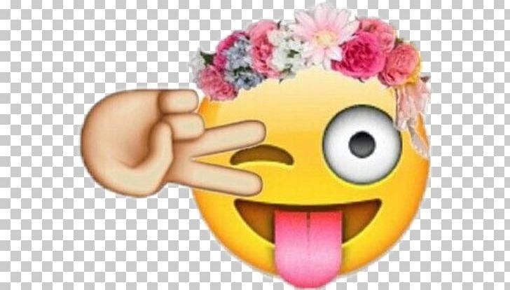 Emoji Mobile Phones Sticker Desktop Flower Png Clipart Corona