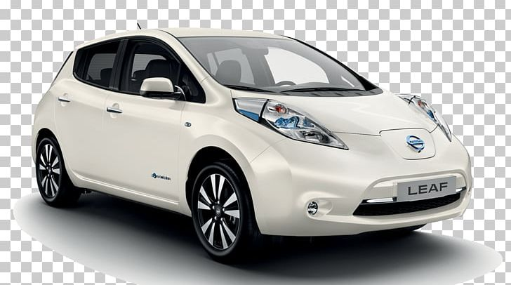 Car 2018 Nissan Leaf Electric Vehicle Zero Emissions Png Clipart Automotive Design