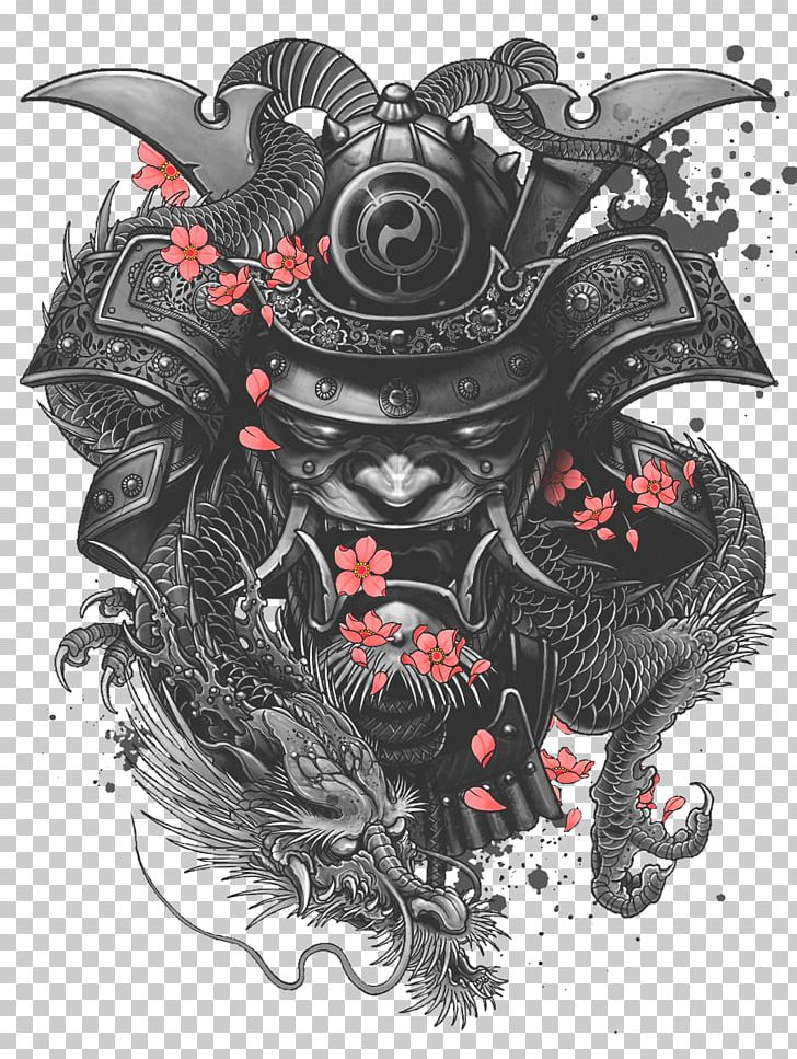 Sleeve Tattoo Samurai Irezumi PNG, Clipart, Art, Automotive Design, Blackandgray, Body Art, Demon Free PNG Download