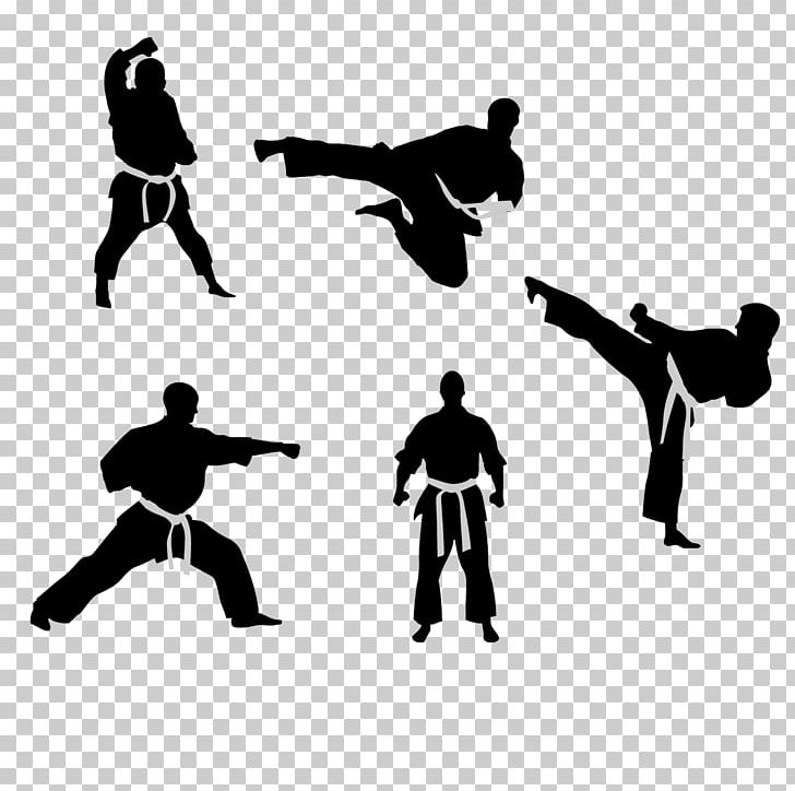 Taekwondo Karate Kick Martial Arts PNG, Clipart, American Football, Angle, Black And White, Combat Sport, Computer Icons Free PNG Download