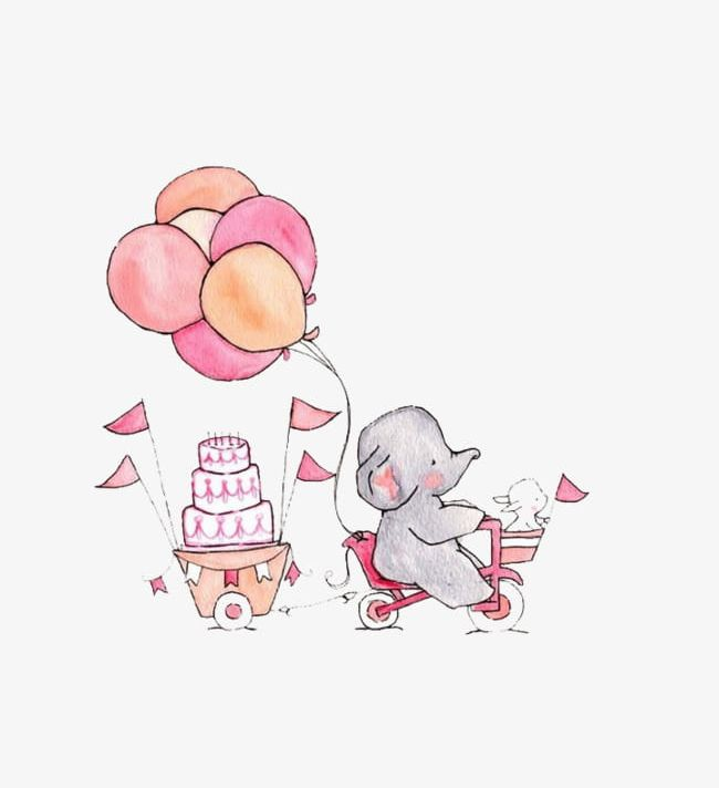 Cartoon Baby Elephant Png Clipart Baby Baby Clipart Backgrounds Balloon Birthday Free Png Download Here you can explore hq elephant transparent illustrations, icons and clipart with filter setting like size, type, color etc. cartoon baby elephant png clipart