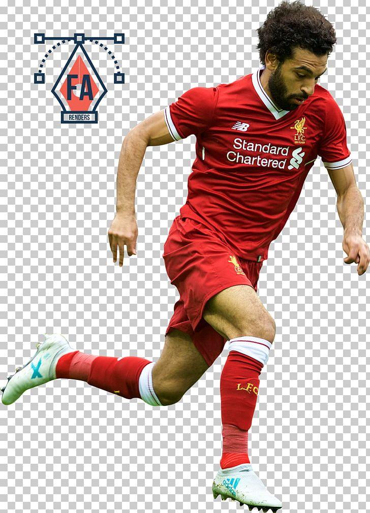 new arrival 2dcd1 eb0b1 Mohamed Salah Liverpool F.C. T-shirt Egypt National Football ...