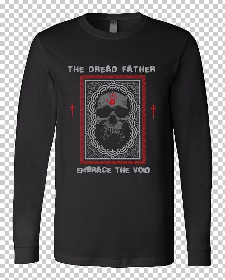 Long-sleeved T-shirt Hoodie The Elder Scrolls Online: Dark Brotherhood PNG, Clipart, Black, Bluza, Brand, Clothing, Collar Free PNG Download