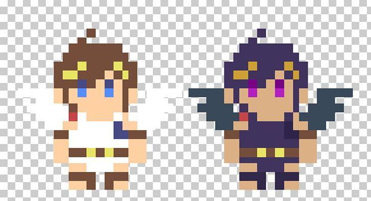 Super Mario Maker Kid Icarus Pit Pixel Art Png Clipart