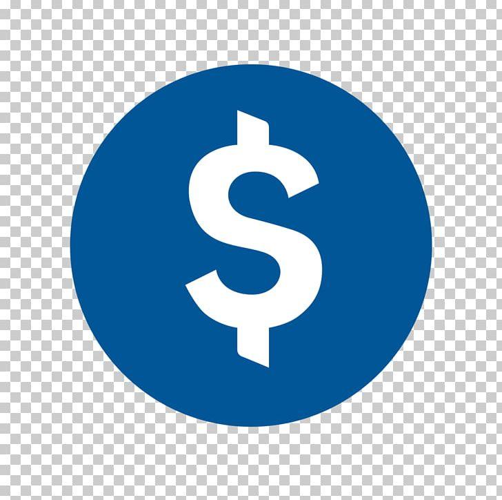 Dollar sign circle. United states business logo