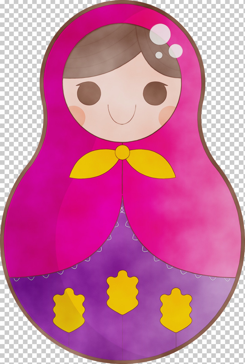 Character Pink M Petal Character Created By PNG, Clipart, Character, Character Created By, Colorful Russian Doll, Paint, Petal Free PNG Download
