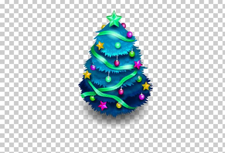 Christmas tree blue. Ico icon png clipart