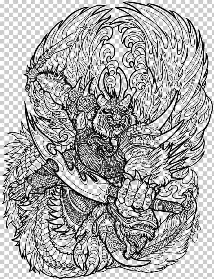 Line Art Drawing Seven Deadly Sins Black And White Png Clipart Art Artwork Bone Chinese Zodiac