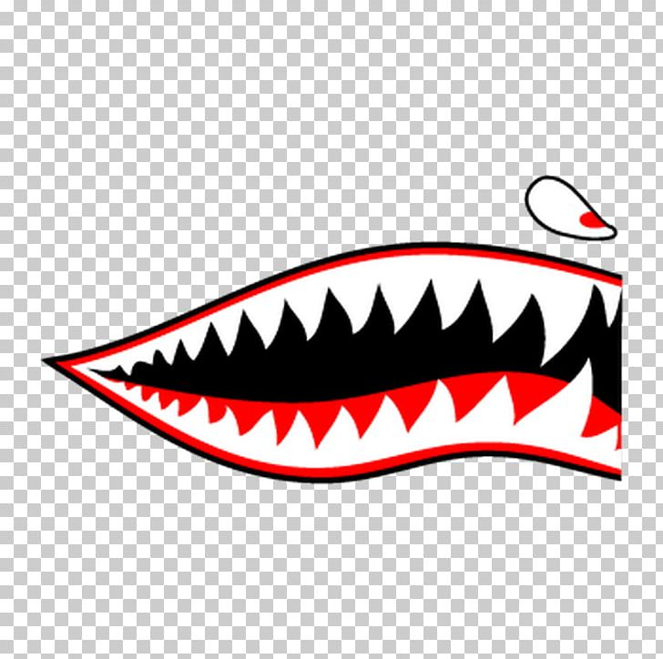 Curtiss P 40 Warhawk Decal Sticker Shark Adhesive Png