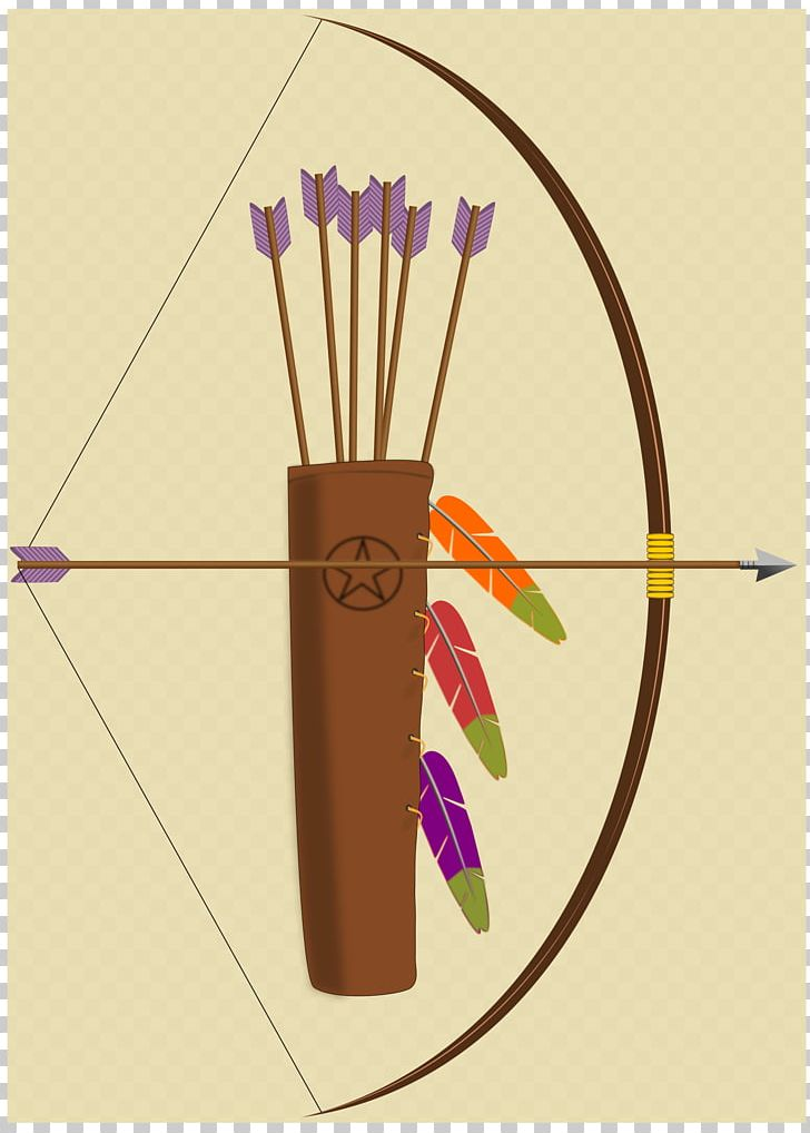 Quiver Bow And Arrow Archery PNG, Clipart, Archery, Arrow