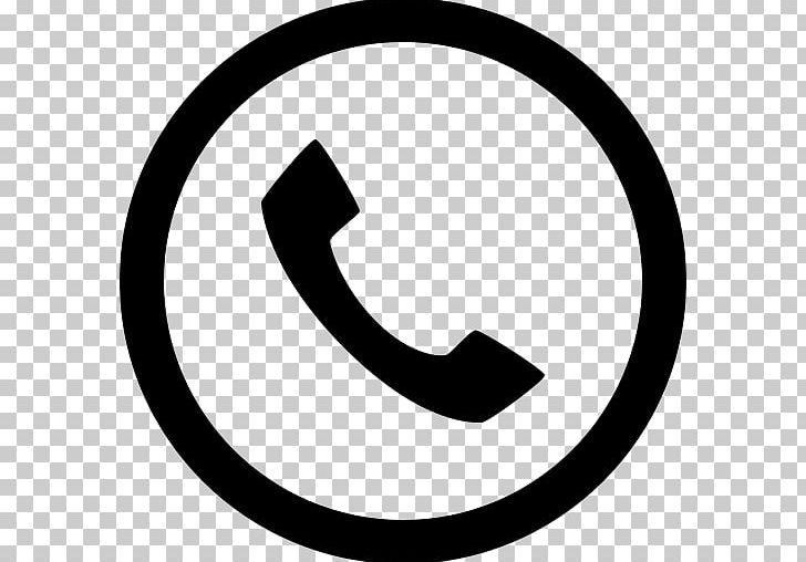 Telephone Call Computer Icons Iphone Symbol Png Clipart Area Black And White Brand Circle Computer Icons
