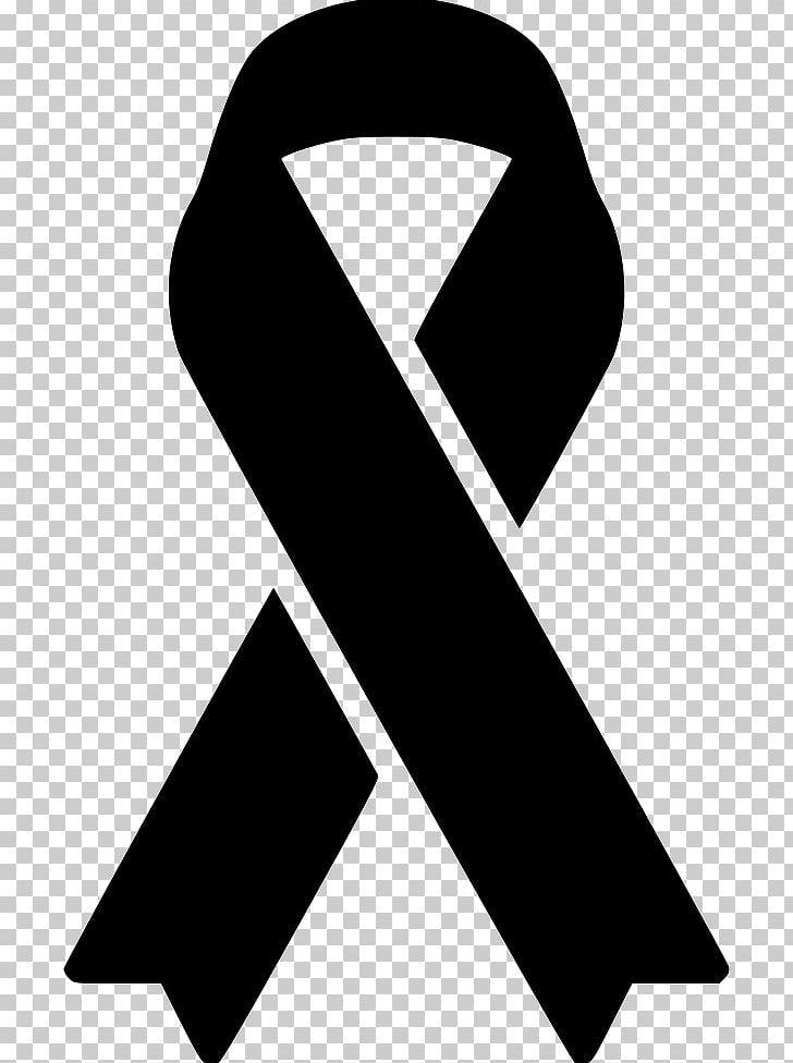 Awareness Ribbon Pink Ribbon Black Ribbon Png Clipart Angle Awareness Awareness Ribbon Black Black And White