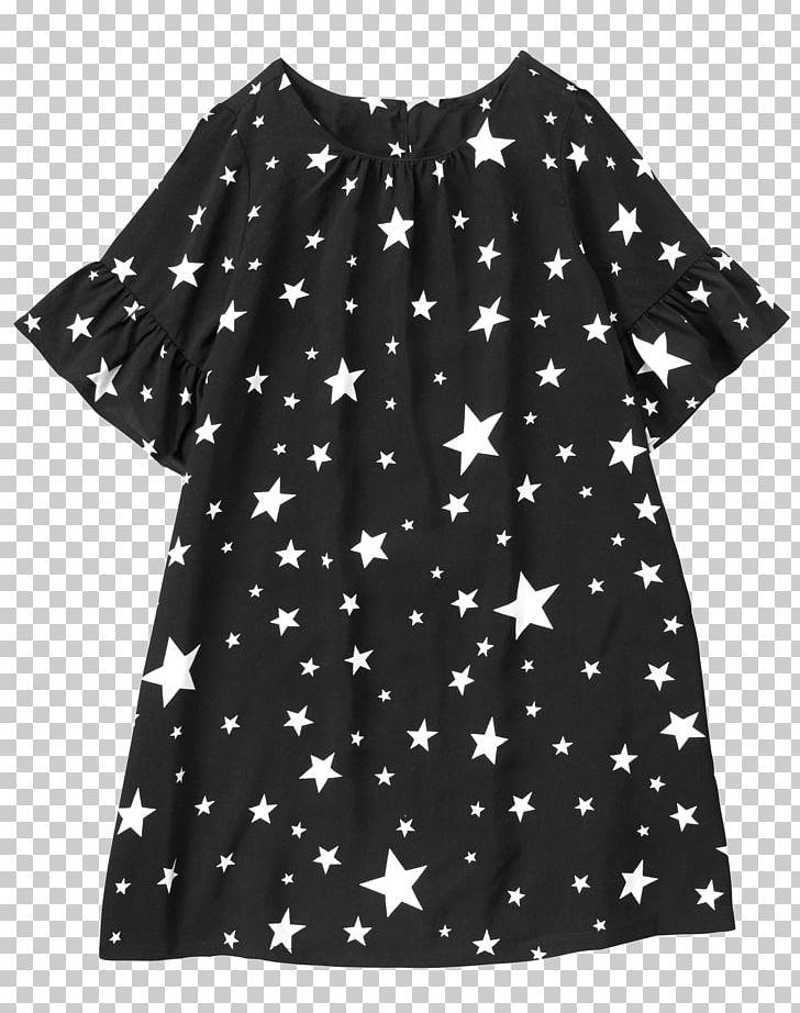 Polka Dot Shoulder Sleeve Blouse Dress PNG, Clipart, Black, Black M, Blouse, Clothing, Crazy 8 Free PNG Download