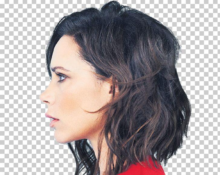 Victoria Beckham Bob Cut Hairstyle Fashion Designer Png