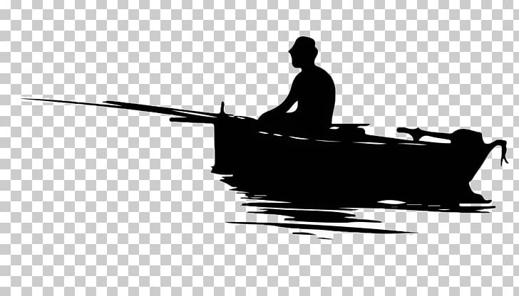 Fisherman Graphics Fishing Boat Png Clipart Black And White Boat Boat Clipart Boating Canoe Free Png