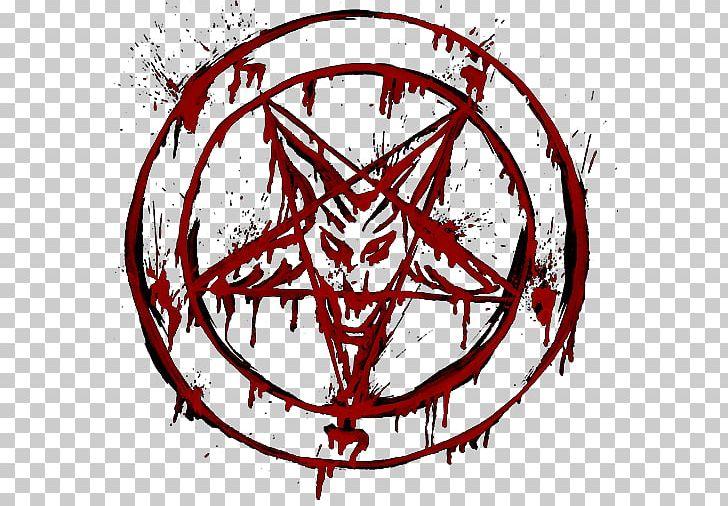 Sigil Of Baphomet Pentagram Satanism PNG, Clipart, Art, Artwork, Baphomet, Black And White, Blood Free PNG Download
