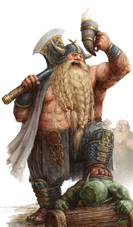 Warhammer Fantasy Battle Goblin Dwarf Png Clipart Action Figure Art Artist Cartoon Deviantart Free Png Download