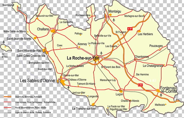 Map Of France Vendee.La Roche Sur Yon Wikipedia Map Vendee Png Clipart Area Carte