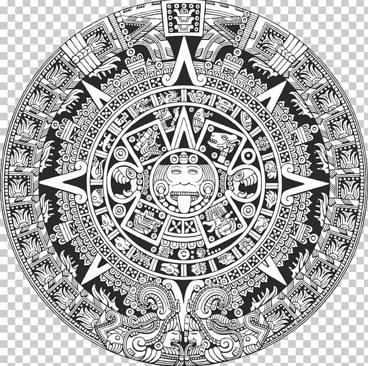 aztec calendar png aztec calendar stone mesoamerica maya civilization png