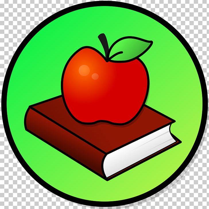 Apple pencil. Book fall apples crisp