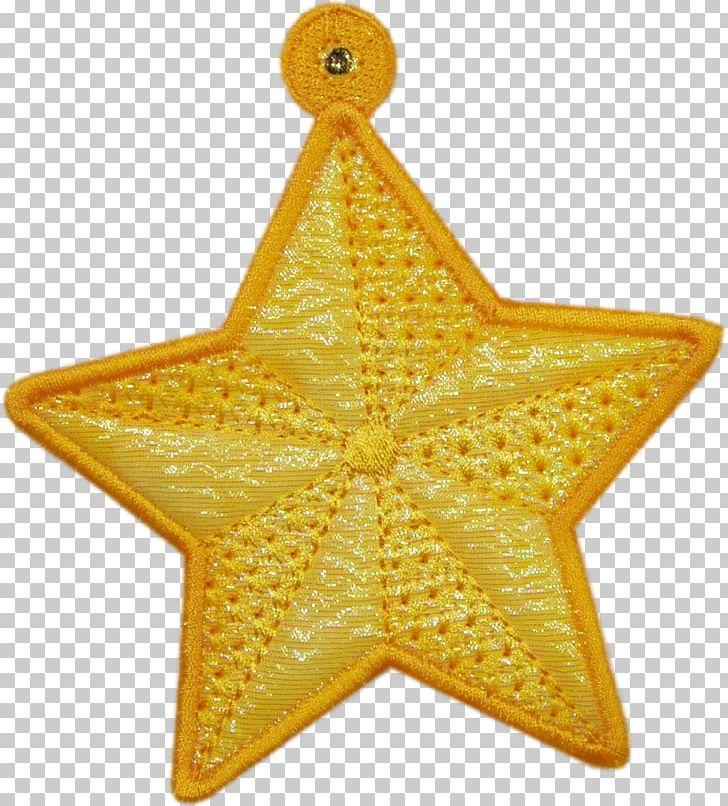 Symmetry Christmas Ornament Starfish Christmas Day PNG, Clipart, Christmas Day, Christmas Ornament, Starfish, Symmetry, Yellow Free PNG Download