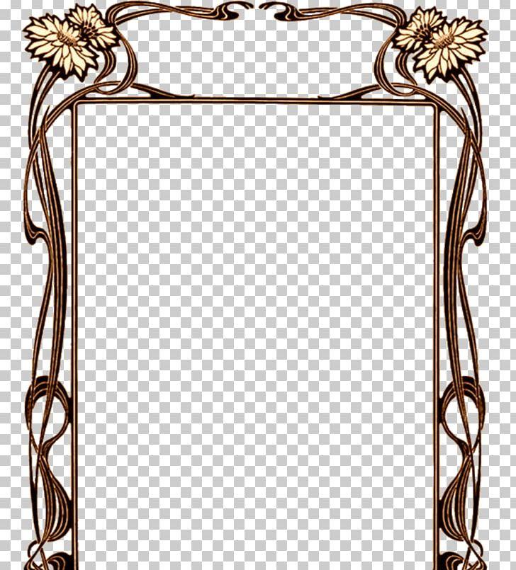 Borders And Frames Art Nouveau Art Deco Png Clipart Arch